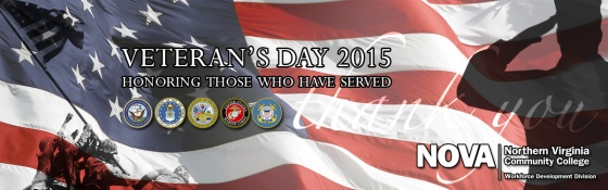 Veteran's Day 2015 - honoring those who have served
