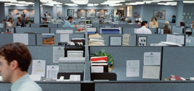"""Office Space"" (Mike Judge). © 1999 Twentieth Century Fox / Courtesy Pyxurz."